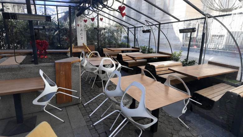 restrictii ridicate bucuresti restaurante redeschise agerpres_13646206