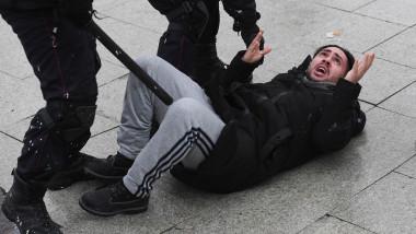 protestatar in moscova batut la manifestatia pro navalnii profimedia-0585541822