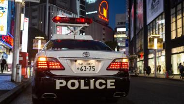 masina de politie japonia profimedia