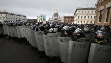 Protests in support of Navalny in Russia