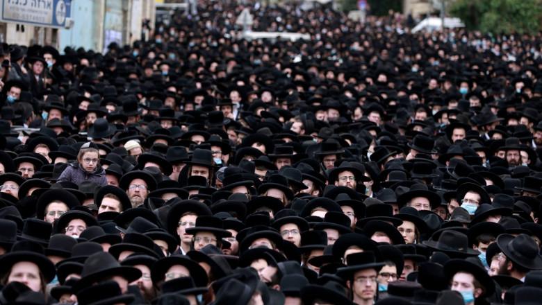 inmormantare rabin israel profimedia-0587536270