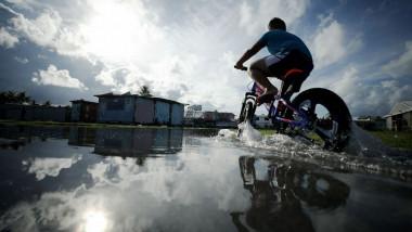creșterea nivelului mării Tuvalu