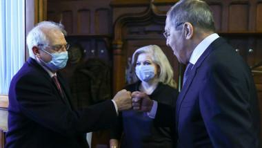 Lavrov și Borrell