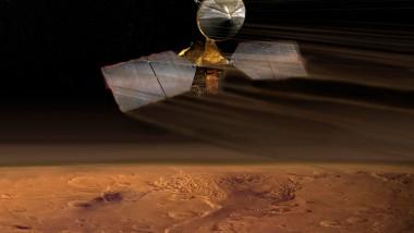 Sondă spațială în orbita marțiană