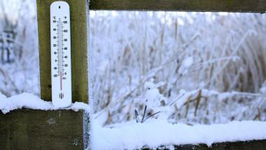 ger meteo iarna ninsoare termometru getty
