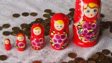 scadere economie rusia