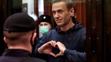 Alexei Navalnîi, gest de iubire pentru soția sa