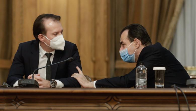 Surse: Lupte politice în PNL între Orban și Cîțu pe numirile din Guvern. Premierul refuză unele numiri promise de președintele PNL