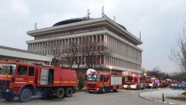 incendiu politehnica pompieri