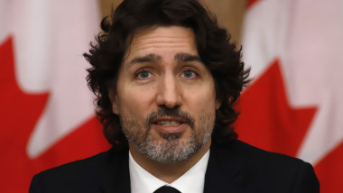 Trudeau Guns, Ottawa, Canada - 16 Feb 2021