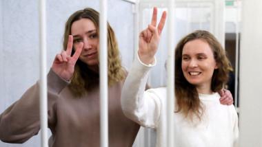 Katerina Bakhvalova și Daria Chultsova