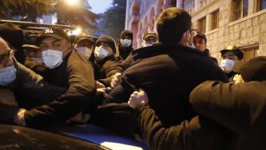 proteste tbilisi