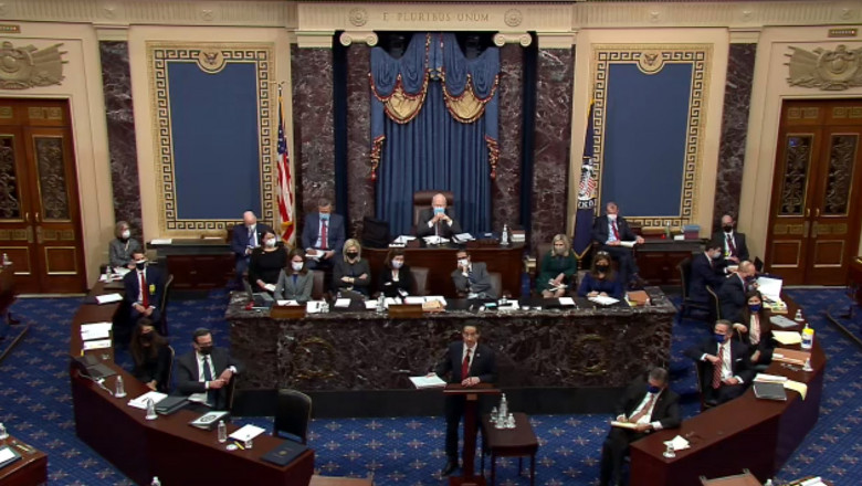 Second Impeachment Trial Of Donald J. Trump Begins In Senate