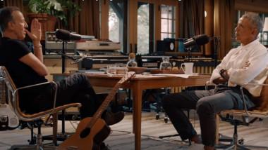 Barack Obama și Bruce Springsteen împărtășesc detalii emoționante din copilăre intr-un podcast realizat de fostul presedinte american