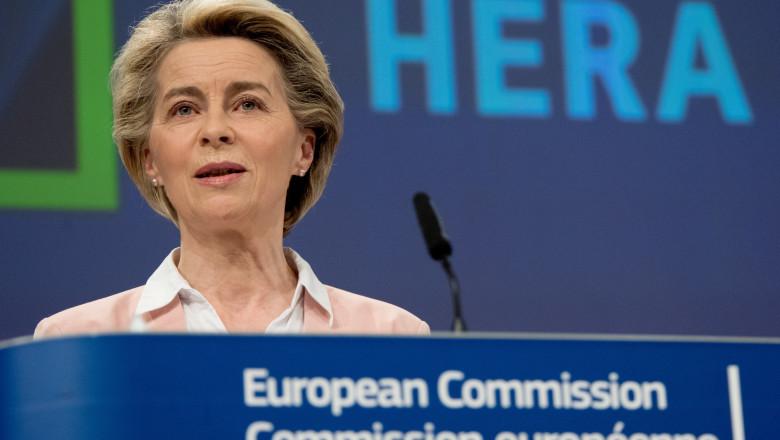 ursula von der leyen presedinta comisiei europene