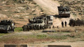 An Israeli army artillery unit takes part in a training session south of the Palestinian village of Yatta, in area C, Hebron, West Bank, Palestinian Territory - 02 Feb 2021