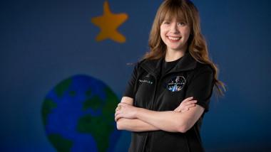 hayley-arceneaux-turista-spatiala-astronaut