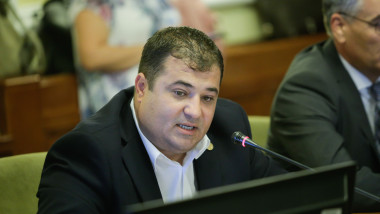 Adrian Solomon in Parlament