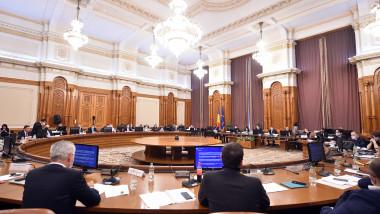 dezbateri comisie parlament buget