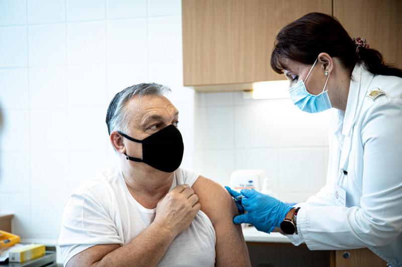 viktor orban vaccinat - fb