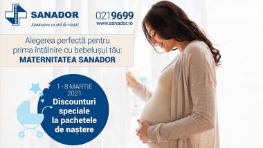 Oferte Maternitate SANADOR