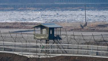 Post de pază în zona demilitarizată