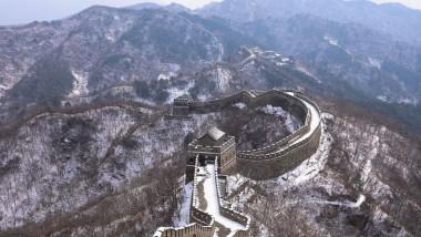 Marele Zid Chinezesc, unul dintre cele mai vizitate locuri din lume