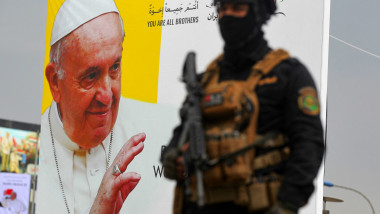 papa francis afis irak militar profimedia-0595152545