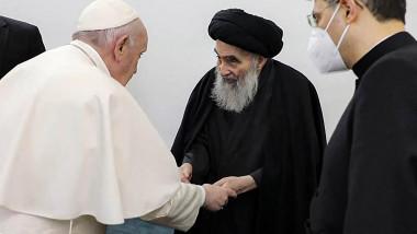 Papa Francisc Al-Sistani