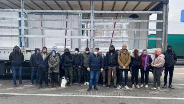 refugiati prinsi - politia de frontiera