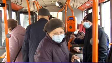 aglomeratie autobuz