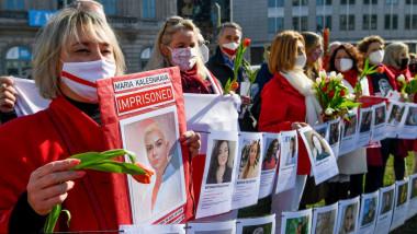 Proteste de Ziua Internațională a femeii împotriva interzicerii avortului