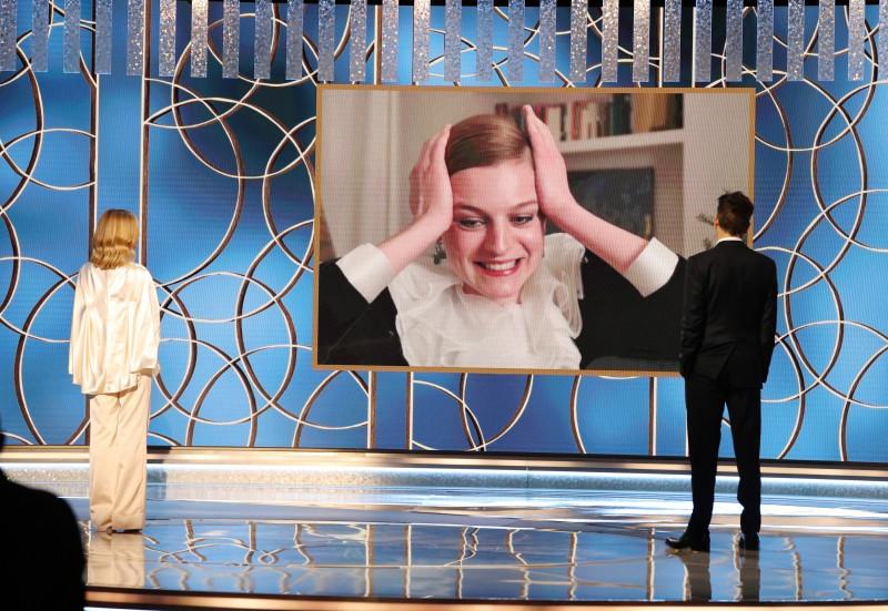 Emma Corrin a câștigat Globul de Aur 2021 pentru ceqa mai bună actriță de televiziune