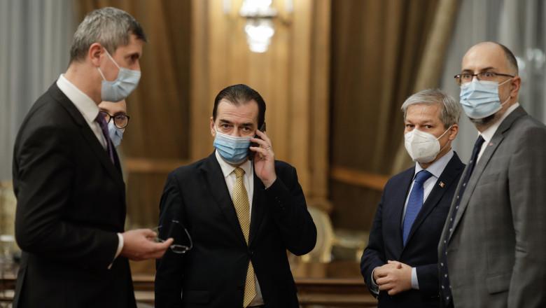 """Surse: Orban le-a spus liberalilor că răspunderea politică pentru Voiculescu aparține USR PLUS. """"Avem nevoie de coeziune în Coaliție"""""""