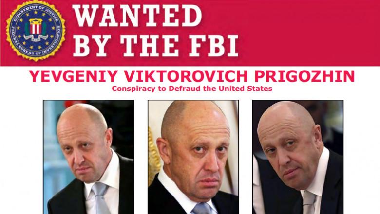 Evgheni Prigojin, bucătarul lui Putin, șeful companiei de mercenari Wagner, pe lista infractorilor căutați de FBI
