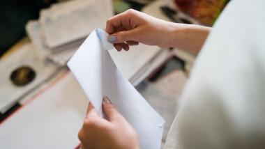 Plic scrisoare