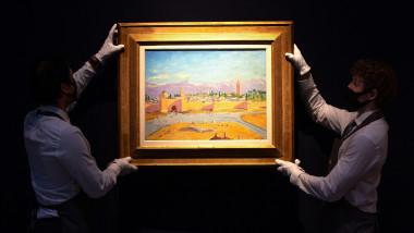 tablou pictat de Churchill și vândut de Angelina Jolie cu peste 8 milioane de euro