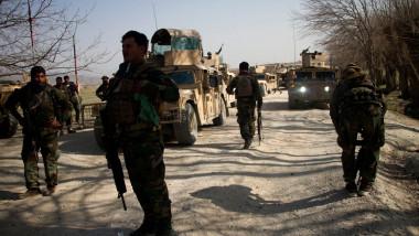 militari în Afganistan