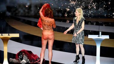 Protest nud la premiile Cesar 2021