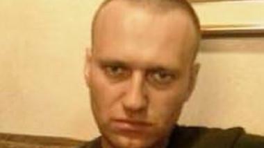 Fotografie cu Aleksei Navalnîi aflat în închisoare.