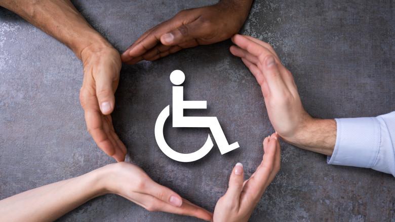 persoane cu dizabilitati