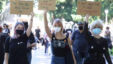 Proteste în Sidney împotriva abuzurilor sexuale