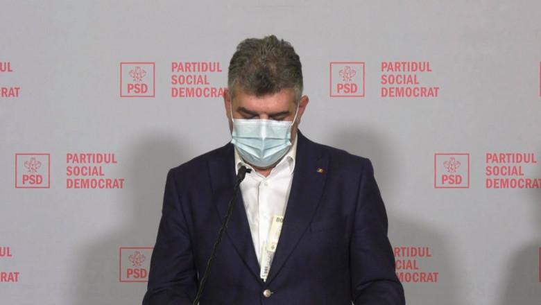 Marcel Ciolacu, cu banii la vedere, în timp ce anunța depunerea unei  moțiuni împotriva ministrului Agriculturii. Replica șefului PSD