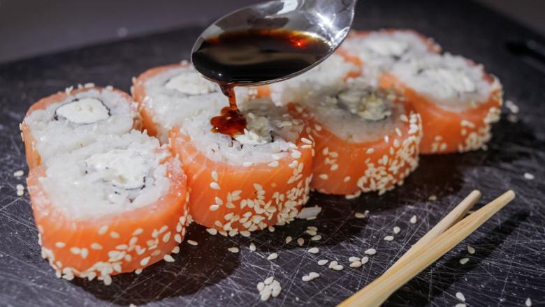 sushi cu soia