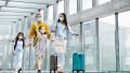 familie la aeroport, vacanta