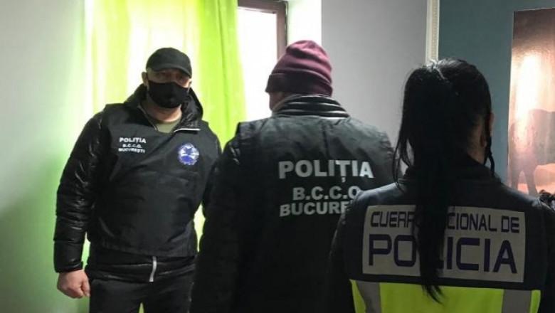 Rețea de proxeneți români care activa în Spania desființată cu sprijinul Europol