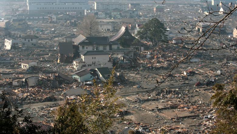 Magnitude 9.0 Earthquake And Tsunami Devastate Northern Japan