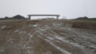 autostrada in constructie