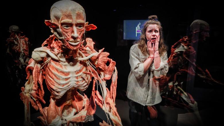"""Expoziţia de cadavre umane """"Body Worlds"""" în Moscova"""