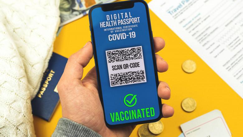 pasaport digital vaccinare anti Covid